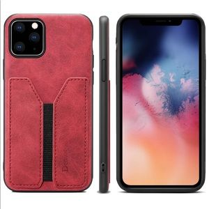 iPhone 11 Leather Card Case